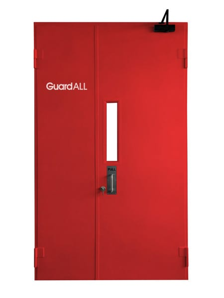 Fire Door Type Single Door Dengan Jendela dan Closed Door