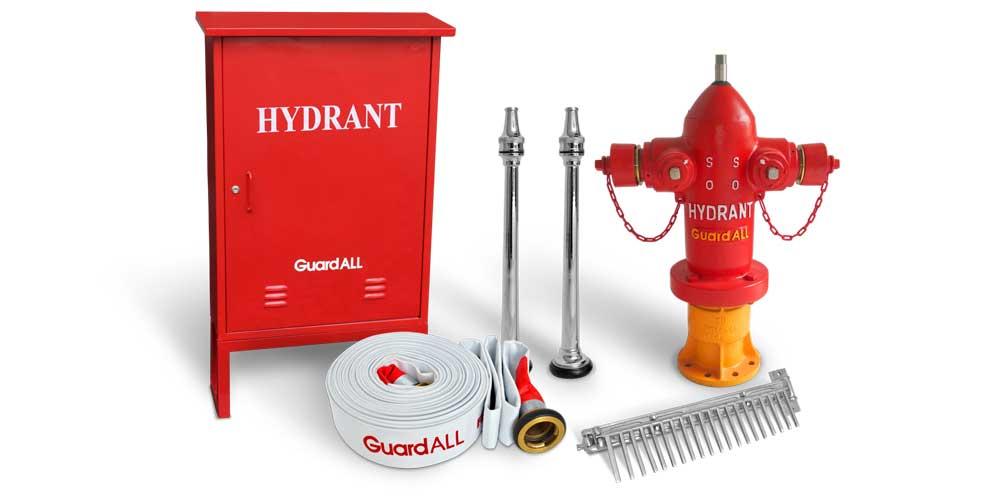 komponen hydrant dan fungsinya untuk memadamkan kebakaran